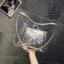 กระเป๋าแฟชั่นงานนำเข้าแบบวัสดุพลาสติกใสแต่งลาย MB18-02502-SIL (สีเงิน) thumbnail 1