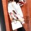 กระเป๋าสะพายกระเป๋าถือ แฟชั่นนำเข้าทรงยอดฮิต แบรนด์ BEIBAOBAO แท้ BR0377-CRM (สีครีม) thumbnail 4