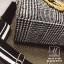 กระเป๋าสะพายกระเป๋าถือ แฟชั่นงานนำเข้าใบใหญ่สไตล์แบรนด์ดัง MB18-01401-BLK-WHT [สีดำ/ขาว] thumbnail 4