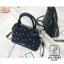 กระเป๋าสะพายกระเป๋าถือ แฟชั่นนำเข้าสไตล์คุณหนู AX-12363-BLU (สีน้ำเงิน) thumbnail 3