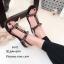 รองเท้าแตะโซ่คาดหน้า G4112-ดำ (สีดำ) thumbnail 2
