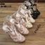 รองเท้าส้นสูงสีดำ งานสไตล์ YSL หนังแก้ว LB-K766-BLK thumbnail 4