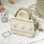 กระเป๋าสะพายกระเป๋าถือ แฟชั่นนำดีไซน์สุดหวาน แบรนด์ axixi แท้ AX-12409-CRM (สีครีม)