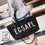 กระเป๋าสะพายกระเป๋าถือกระเป๋าปักเลื่อม แฟชั่นงานนำเข้าปักเลื่อมวิ๊บวับ MB18-00905-BLK [สีดำ] thumbnail 5