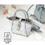 กระเป๋าสะพายกระเป๋าถือ แบรนด์ axixi แท้ดีไซน์สุดหวาน AX-12435-BLU (สีน้ำเงิน) thumbnail 1