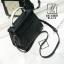 กระเป๋าสะพายกระเป๋าถือ แฟชั่นนำเข้างานเรียบหรูมากก... AX-12361-BLK (สีดำ) thumbnail 5