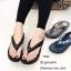 รองเท้าแตะเพื่อสุขภาพสีดำ คีบ YT122-ดำ thumbnail 2