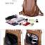 แบบมาใหม่ ทรงสุดฮิต กระเป๋าเป้ผู้หญิงหนังแถมพวงกุญแจสุดน่ารัก BAG-042-แดง (สีแดง) thumbnail 3