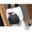 กระเป๋าเป้แฟชั่นนำเข้าแบรนด์ axixi ทรงสุดน่ารัก AX-12478-BLK (สีดำ) thumbnail 3