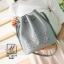 กระเป๋าสะพายกระเป๋าถือ แฟชั่นนำเข้าทรงขนมจีบ AX-12177-GRY (สีเทา) thumbnail 1
