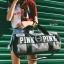 กระเป๋าแฟชั่นนำเข้า ด้านหน้าสกรีน PINK BAI-276-GRY (สีเทา) thumbnail 3