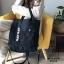 กระเป๋าสะพายเป้ เป้แฟชั่นงานนำเข้าสไตล์เกาหลี MB18-00501-BLK (สีดำ) thumbnail 4