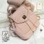 กระเป๋าสะพายเป้กระเป๋าถือ เป้แฟชั่นนำเข้าสุดน่ารัก AX-12285-PNK (สีชมพู) thumbnail 1