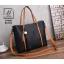 กระเป๋าสะพายกระเป๋าถือ แบรนด์ BEIBAOBAO แท้ ใบใหญ่ใส่ของจุใจ BV800-BLK (สีดำ) thumbnail 1