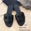รองเท้าแตะหนัง Style Brand Herme DD22-ดำ (สีดำ) thumbnail 1