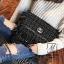 กระเป๋าสะพายกระเป๋าถือ ครัชแฟชั่นงานนำเข้าสไตล์แบรนด์ดังสุดหรู MB18-01207-BLK [สีดำ] thumbnail 2