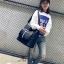 กระเป๋าแฟชั่นสะพายข้างนำเข้า style Fendi MNT-1905-WHI (สีขาว) thumbnail 4