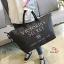 กระเป๋าแฟชั่นนำเข้า Style Victoria's secret BAI-201-BLK (สีดำ) thumbnail 2