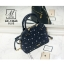 กระเป๋าสะพายกระเป๋าถือ แฟชั่นนำเข้าสไตล์คุณหนู AX-12363-BLU (สีน้ำเงิน)