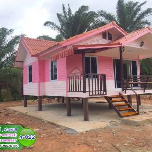 4-022 บ้านน็อคดาวน์ ทรงจั่วมุกซ้อน สำเนา