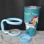 ชุดแก้วเยติ 30 ออนซ์ พื้นสีเขียวเข้ม ลายการ์ตูน ม้าโพนี่ thumbnail 1