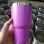 ชุดแก้วเยติ 30 ออนซ์ พื้นชมพูอมม่วง ขอบเงิน thumbnail 1