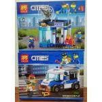 เลโก้จีน LELE.28005 ชุด City รถตำรวจและโจร (ราคาคู่ละ)