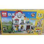 เลโก้จีน Lepin24046 บ้านมีไฟ 3in1 ฺBuilder