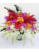 แจกันดอกไม้ Color Deluxe รหัส 3877