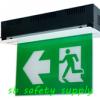 กล่องไฟทางหนีไฟ กล่องไฟทางออก สลิมไลน์ EXB203TRE,EXB203TCE Slimline LED Series (Exit Sign Lighting Max Bright C.E.E.)