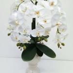 แจกันดอกไม้ประดิษฐ์ฟาแลน รหัส 3074