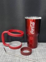 ชุดแก้วเยติ 30 ออนซ์ พื้นสีแดง โลโก้ Coca Cola