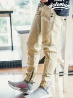 กางเกง JOGGER พรีเมี่ยม ผ้า COTTON รหัสSS 601 KHAKI