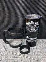 ชุดแก้วเยติ 30 ออนซ์ พื้นสีดำ โลโก้ Jack Daniels