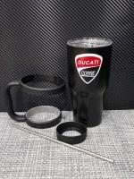 ชุดแก้วเยติ 30 ออนซ์ พื้นสีดำ โลโก้ Ducati