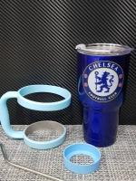 ชุดแก้วเยติ 30 ออนซ์ พื้นสีน้ำ โลโก้ เชลซี