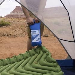 ถุงเป่าลมสำหรับแผ่นรองนอน Klymit