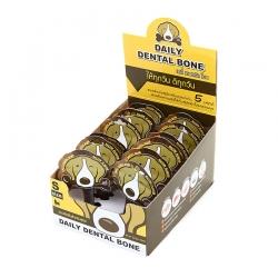 PET2GO ขนมขัดฟันสุนัข เดลี่ เดนทัลโบน รสเบคอน 2x11g (12ชิ้น/กล่อง)