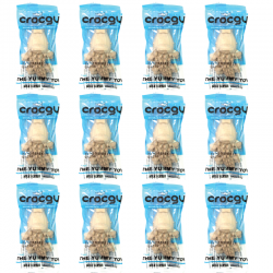 PET2GO ขนมขัดฟันสุนัข CROCGY รสนม 18g (12ตัว/ชุด)
