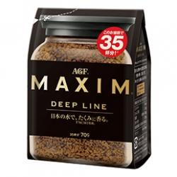 กาแฟ MAXIM Deep Line 70 g รสชาติหอม เข้ม ขายดีมากๆในญี่ปุ่น คอกาแฟไม่ควรพลาดค่ะ