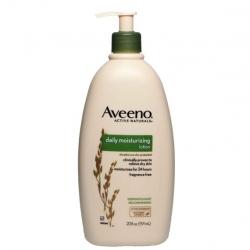 Aveeno daily moisturizing lotion 591 ml. (20 oz.) ขวดใหญ่สุด หัวปั้ม โลชั่นบำรุงผิว อ่อนโยน ใช้ได้ทุกวันค่ะ
