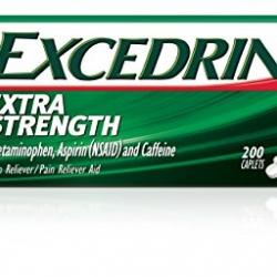 Excedrin ยาแก้ปวดจากอเมริกา บรรเทาอาการปวดต่างๆได้อย่างมีประสิทธิภาพ ขนา่ด 200 เม็ดค่ะ