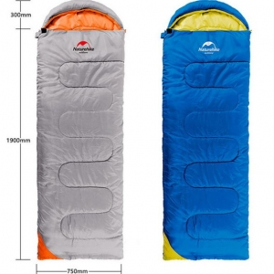 Single Envelope Sleeping Bag With Hood