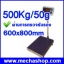 เครื่องชั่งดิจิตอล เครื่องชั่งดิจิตอลแบบตั้งพื้น500kg ความละเอียด50g แท่นขนาด600*800 mm รุ่น T7E-LB6080 (ผ่านการตรวจรับรอง) thumbnail 1