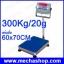 เครื่องชั่งดิจิตอล เครื่องชั่งน้ำหนักดิจิตอลแบบตั้งพื้น เครื่องชั่งตั้งพื้น 300Kg ความละเอียด 20g แท่นชั่ง 60x70cm ยี่ห้อ OHAUS รุ่น T31P (อเมริกา) thumbnail 1