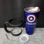 ชุดแก้วเยติ 30 ออนซ์ พื้นสีน้ำเงิน โลโก้ กัปตันอเมริกา