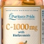 Puritan's Pride C-1000 mg with Bioflavonoids วิตามินซีคุณภาพสูง จากอเมริกาค่ะ ใน 1 เม็ดประกอบไปด้วย วิตามินซี 1000 mg thumbnail 1