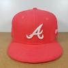 New Era MLB ทีม Atlanta Braves ชมพู 🎃ไซส์ 7 3/8 ( 58.7cm )