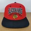 Vintage NHL ทีม Chicago Blackhawk ฟรีไซส์ Snapback 56-60cm