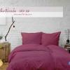 ชุดผ้าปูที่นอน 5 ฟุต สีม่วง รหัส 12